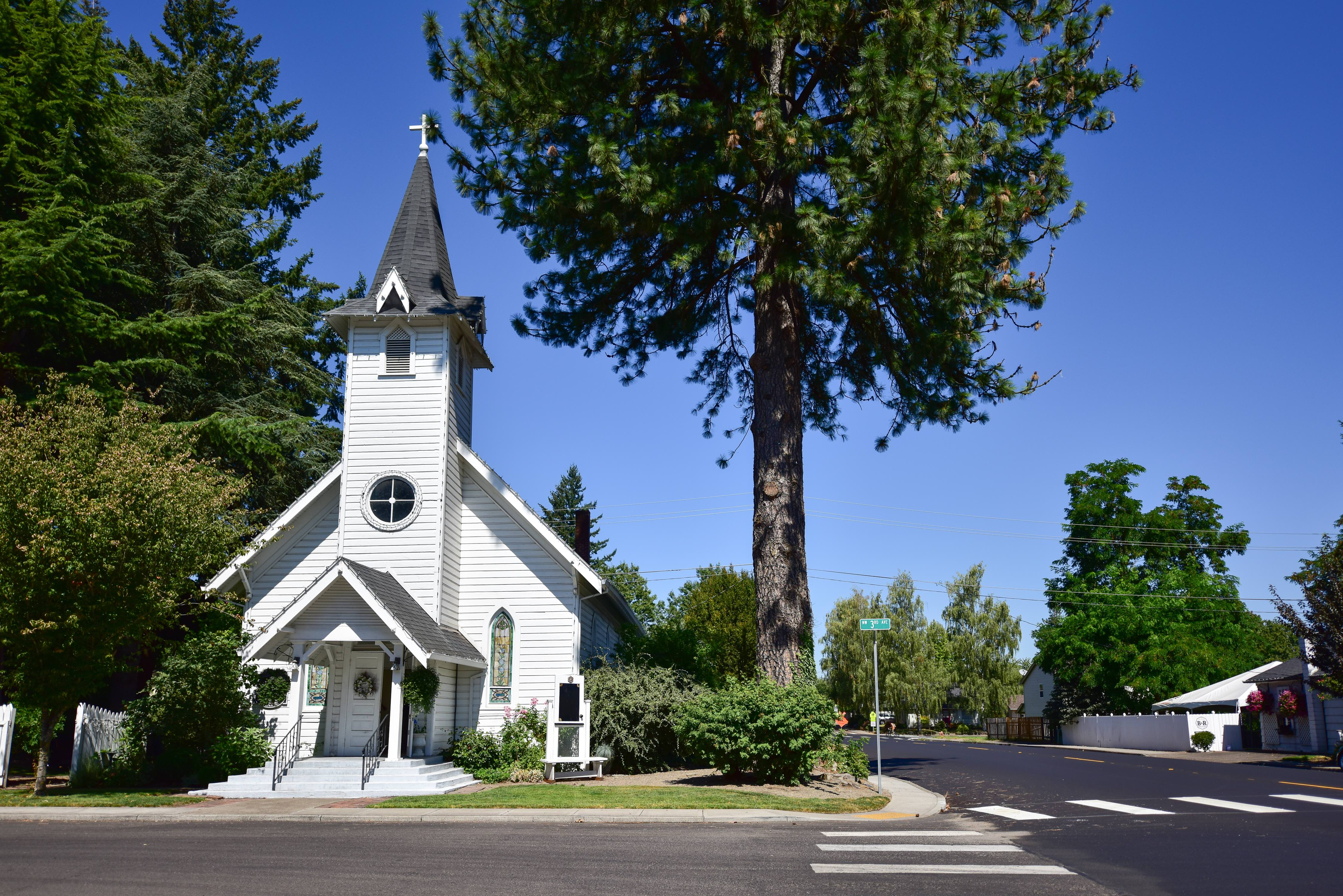 Canby, OR Historical Church
