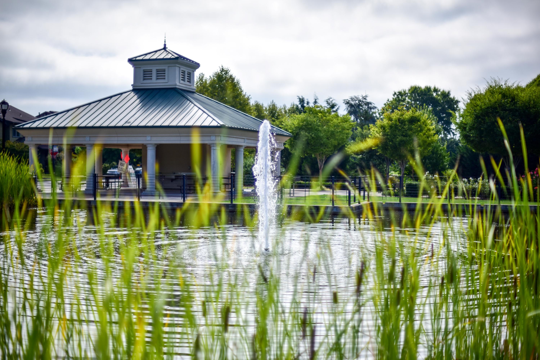 Villebois Wilsonville Sophia Park Plaza Fountain