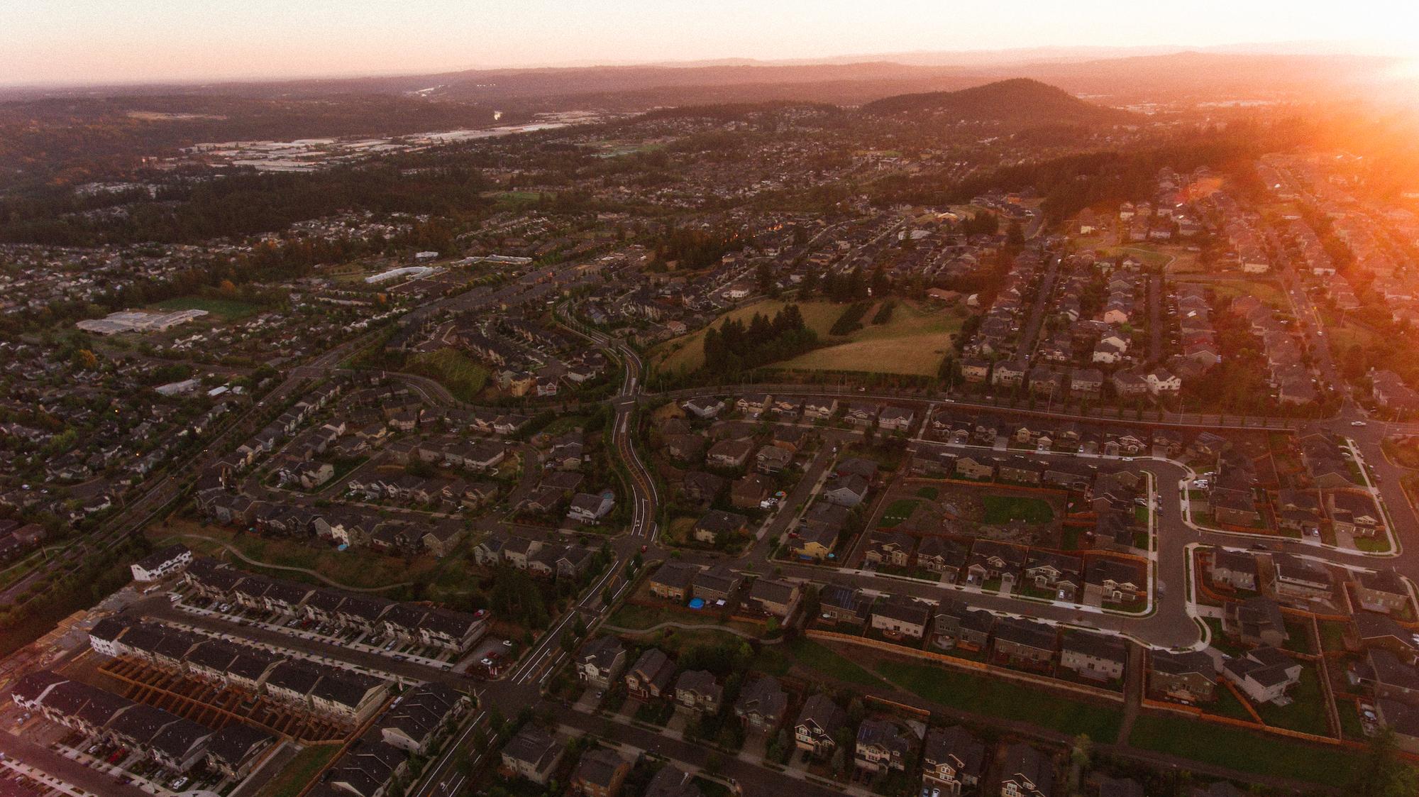 Hillsboro, or homes for sale sunset