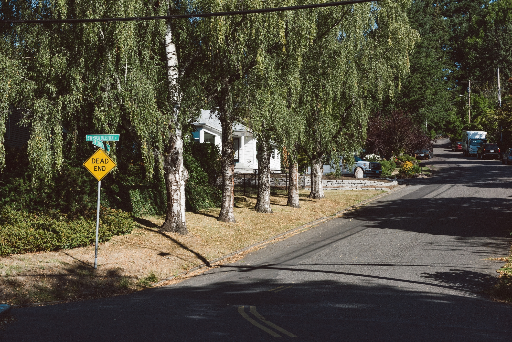 Hillsdale neighborhood streets