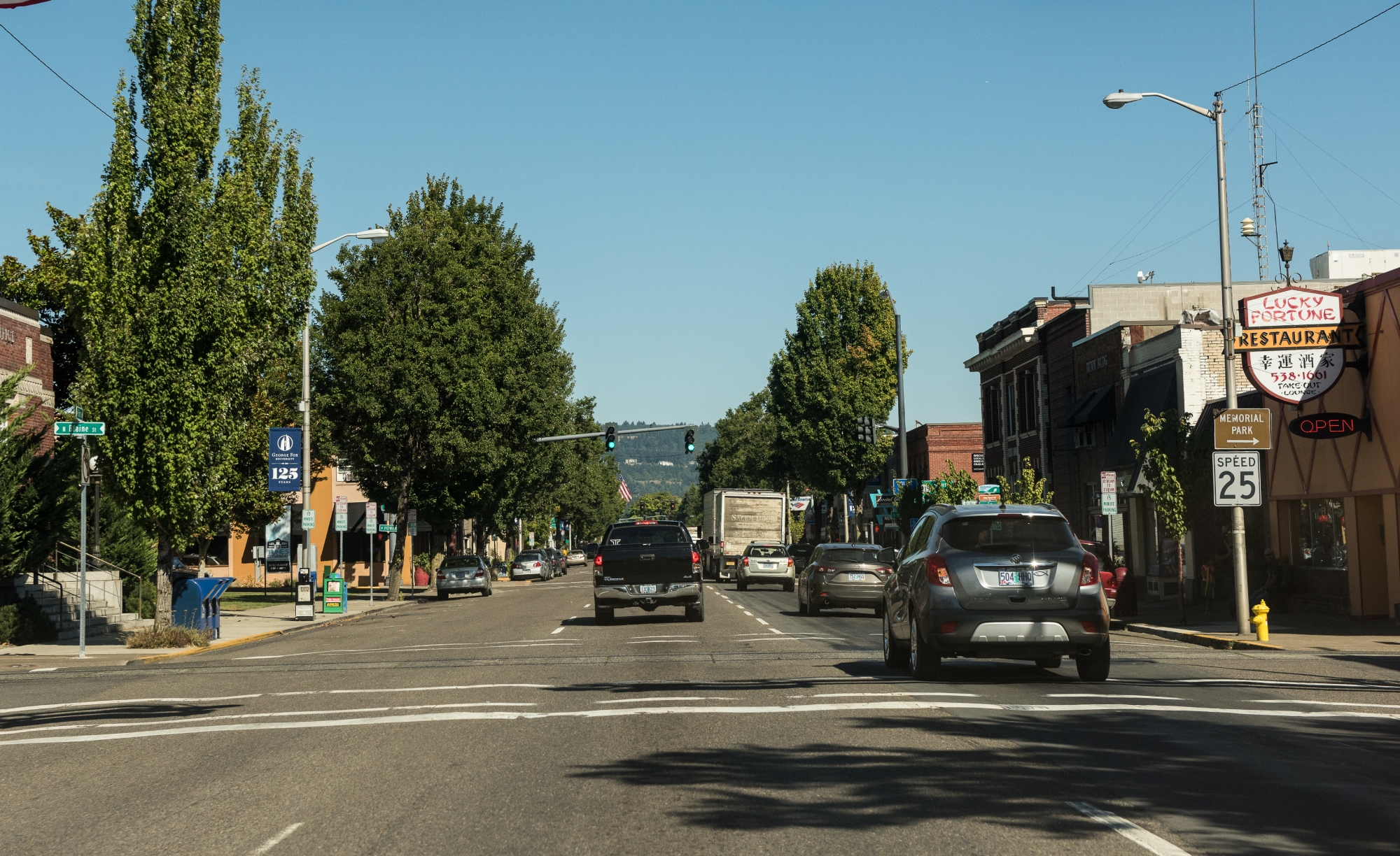 Newberg neighborhood street