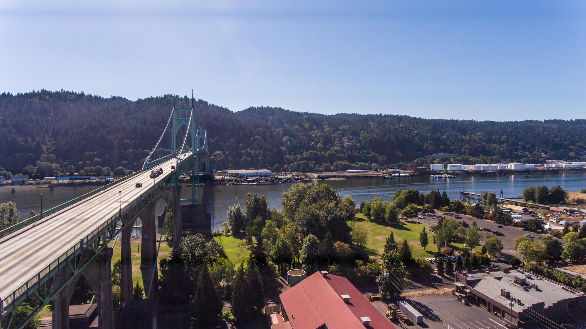 St. Johns Bridge Portland