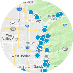 Cottonwood Canyons / Granite Real Estate Map Search
