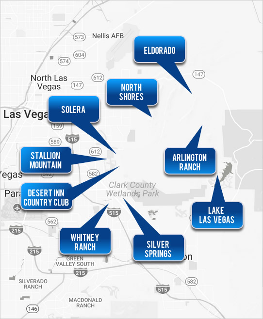 East Las Vegas Homes - Select a Cities