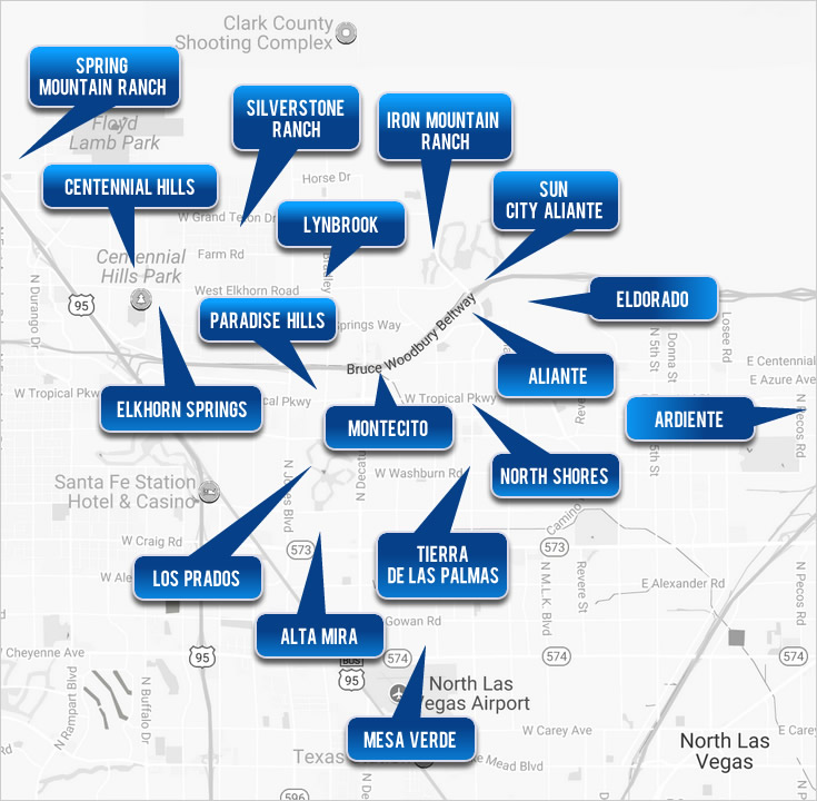 North Las Vegas Homes - Select a Cities