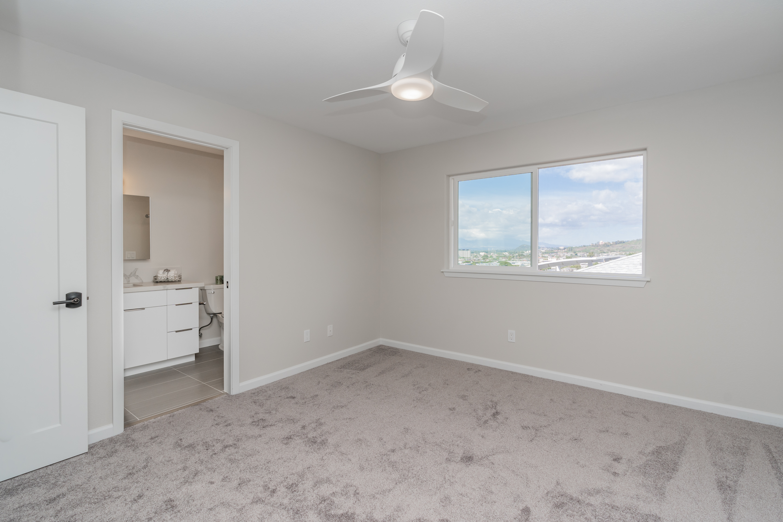 Master bedroom at 1118 Maalaea Road #3 Honolulu, HI 96817