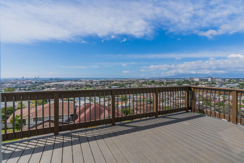 View from the patio at 1118 Maalaea Road Unit #3, Honolulu, HI 96817