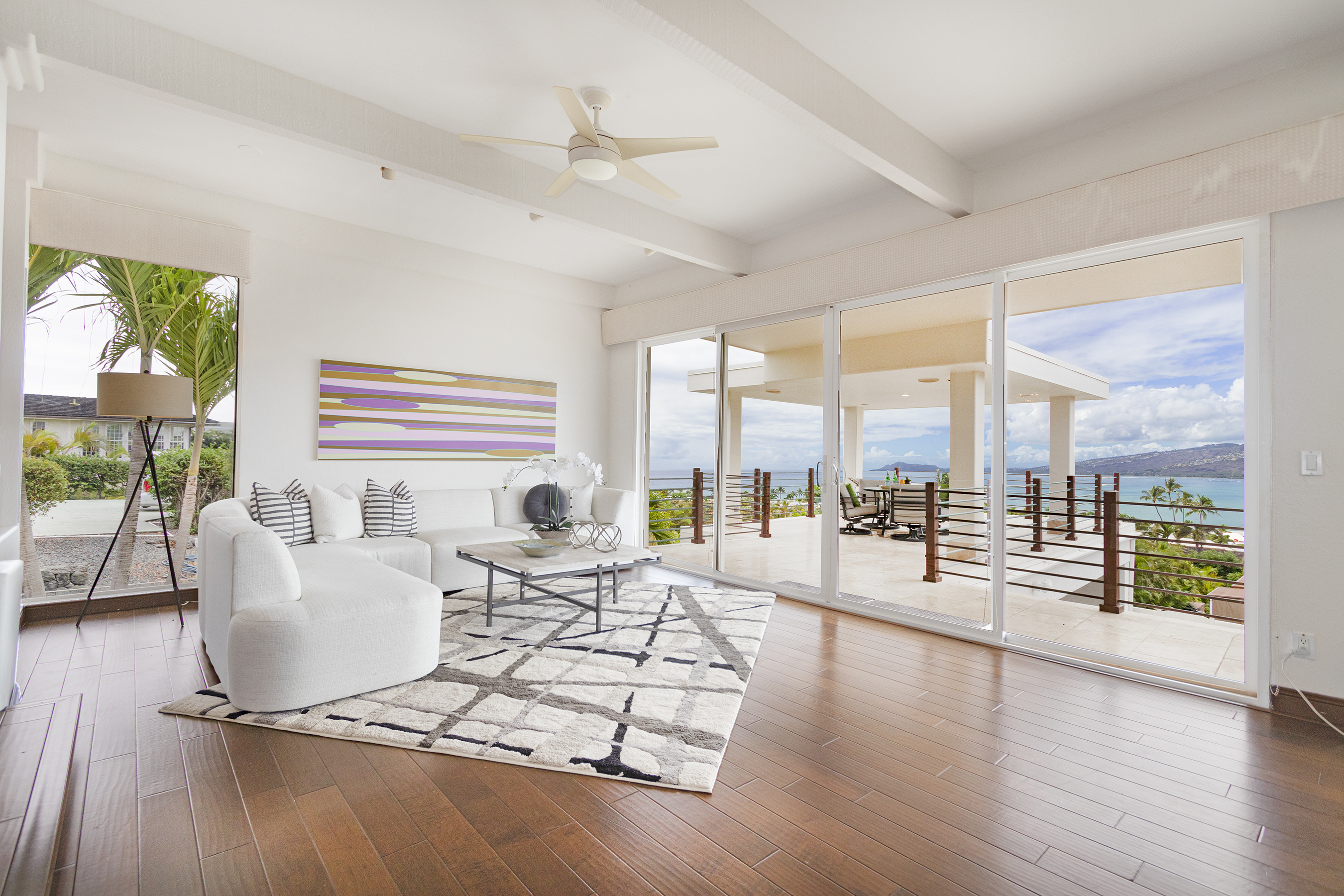 Living Room at 113 Lumahai Street