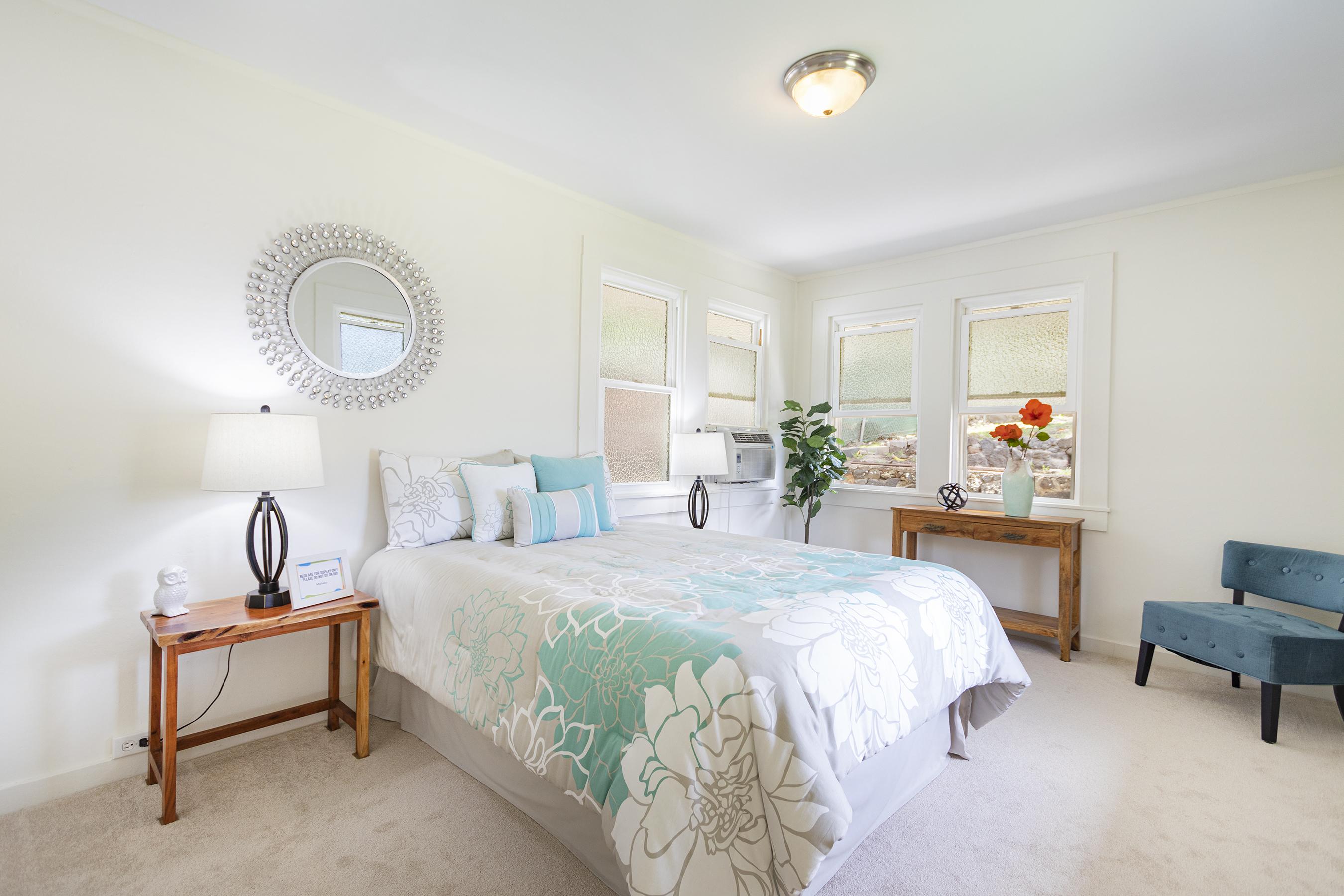 Master bedroom at 1955 9th Avenue, Honolulu 96816