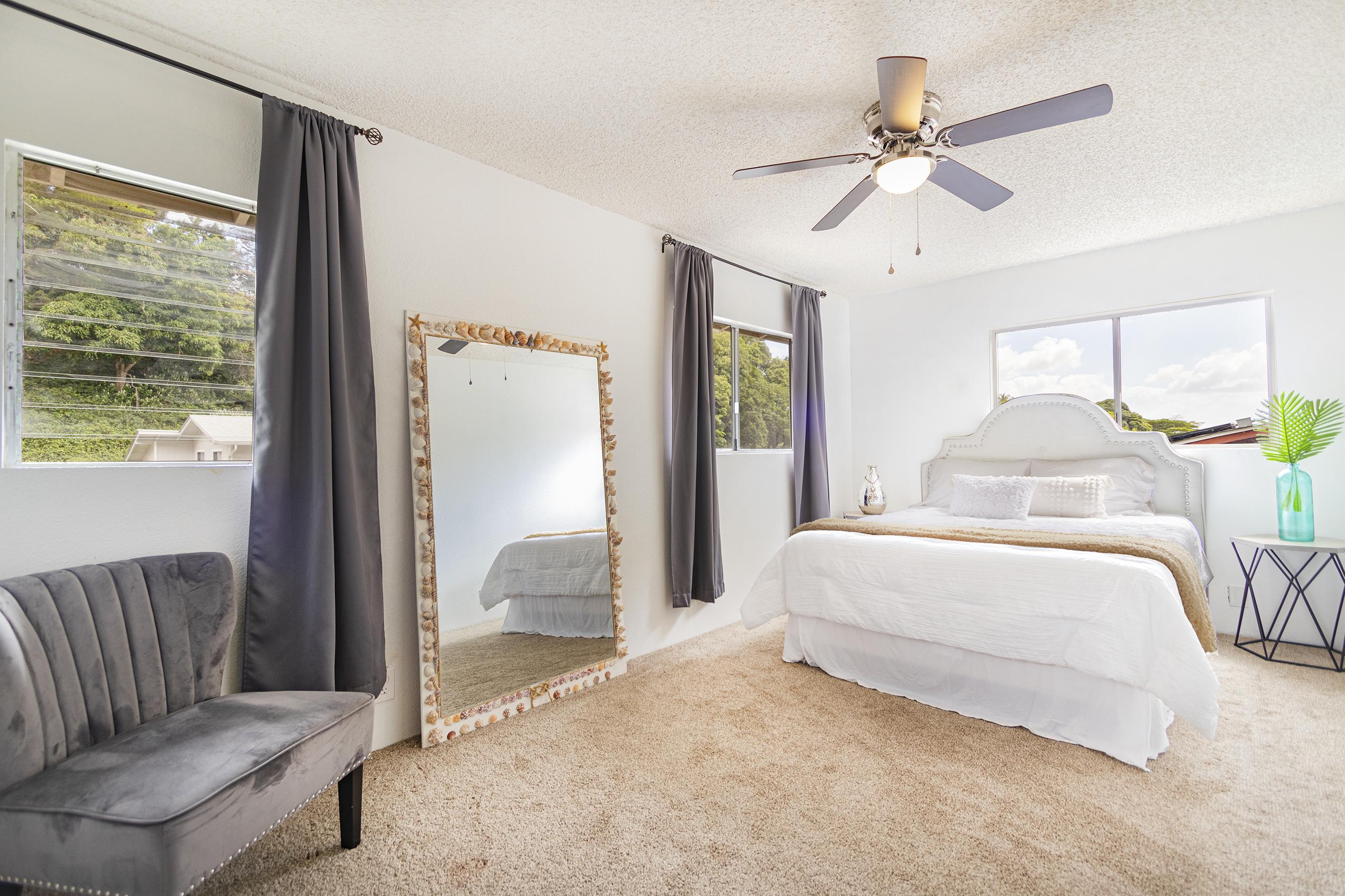 Master bedroom at 2532 Akepa St, Pearl Cit