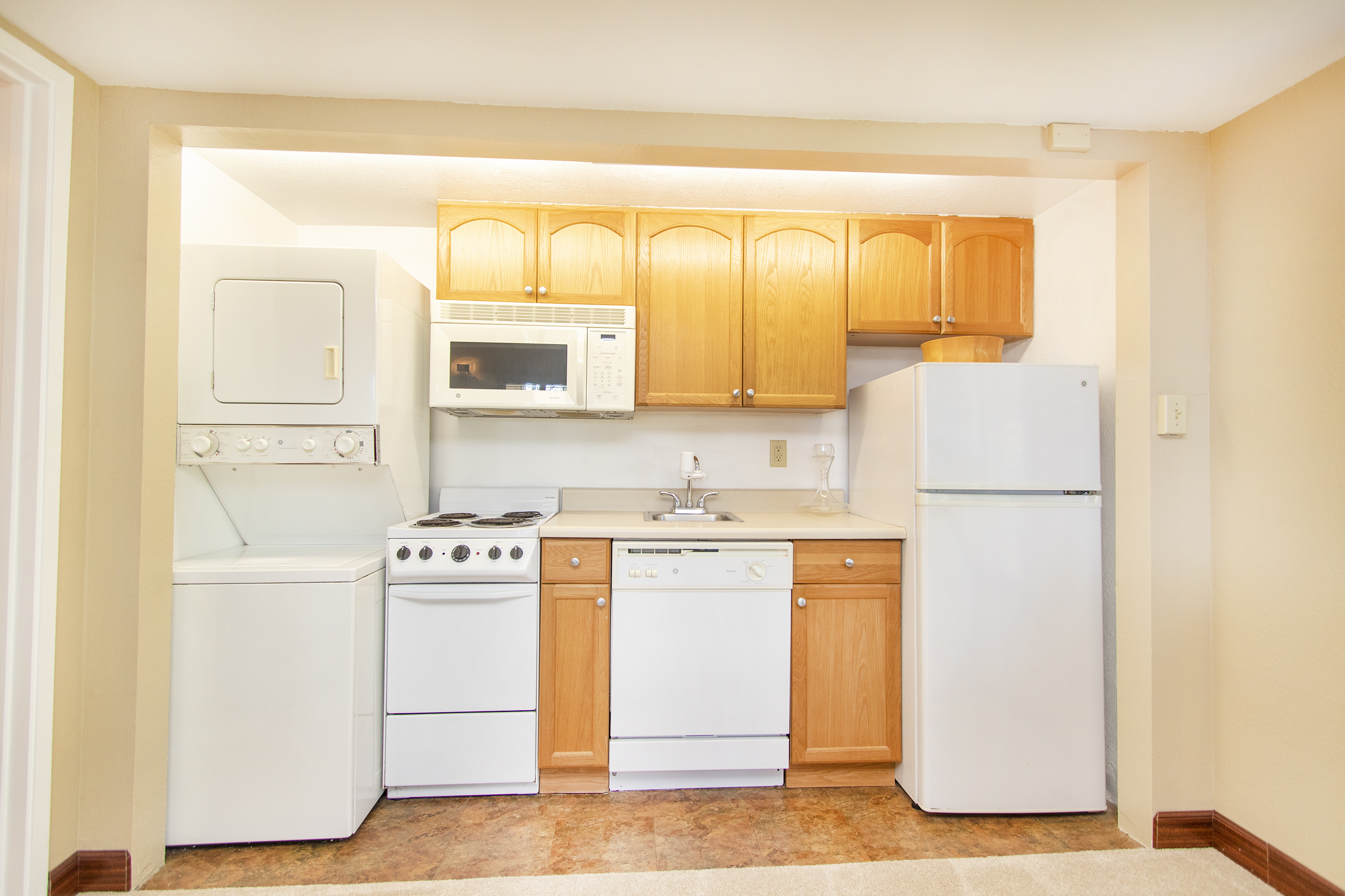 Downstairs kitchen at 3663 Woodlawn Drive