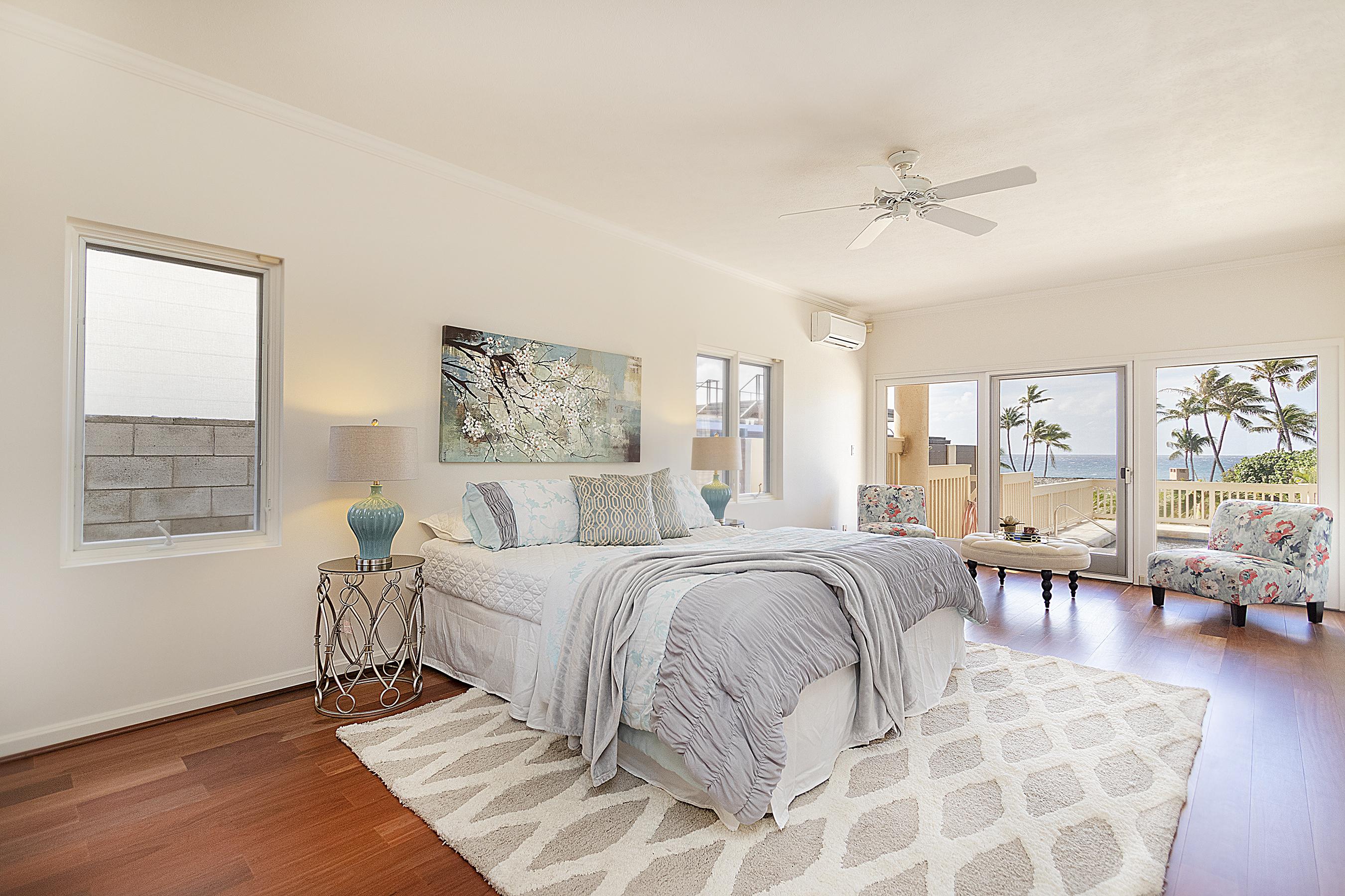 Bedroom two at 4323 Kaikoo Place, Honolulu, HI 96816