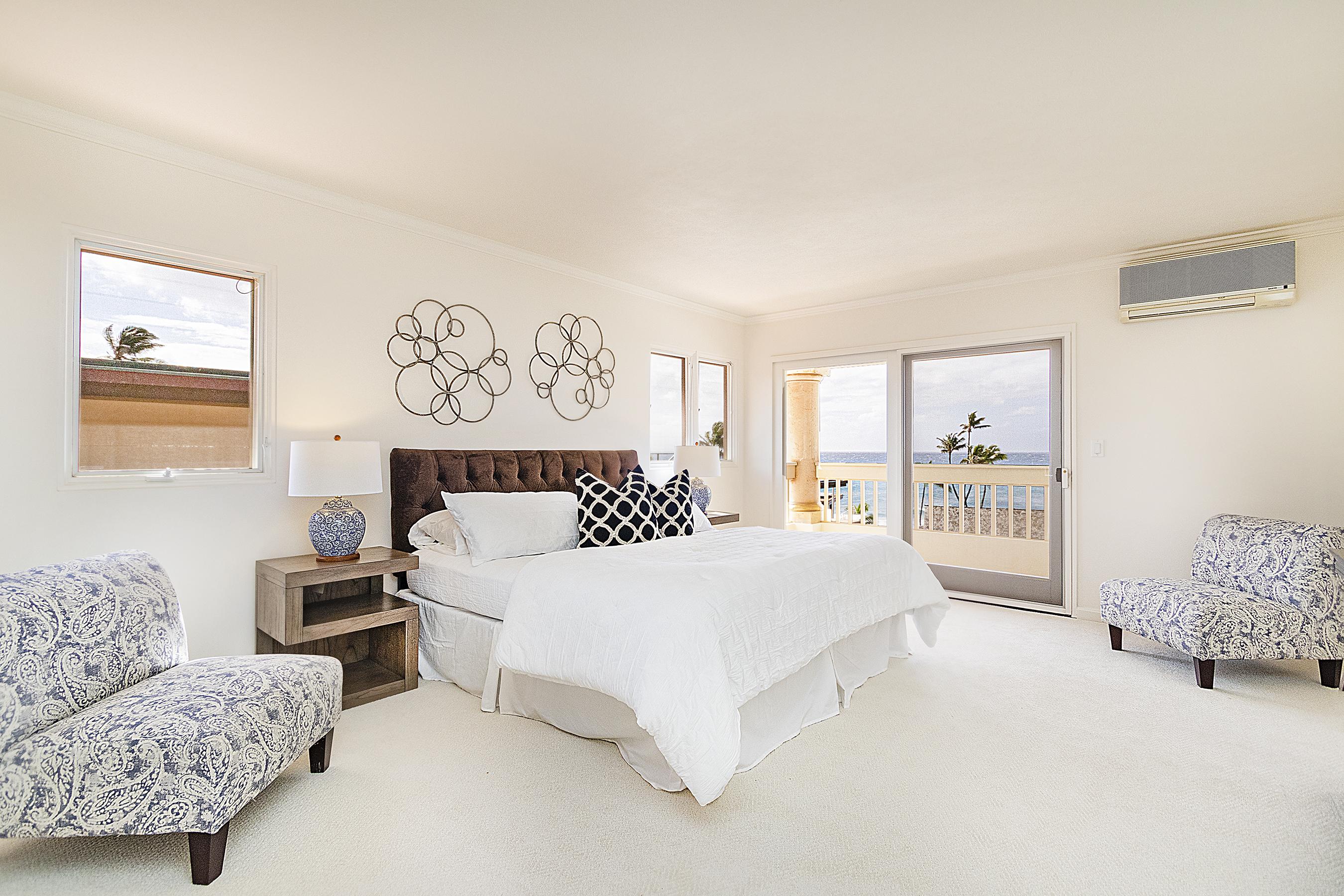 Master bedroom at 4323 Kaikoo Place, Honolulu, HI 96816
