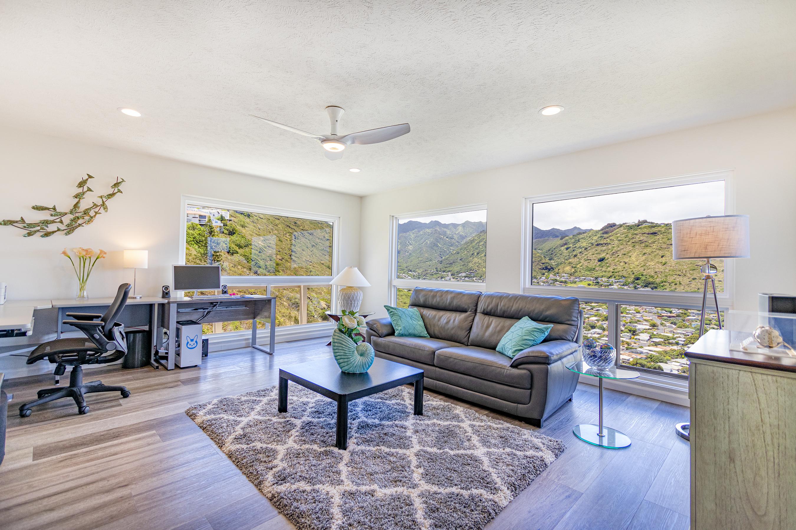 Living room extension at 5307 Poola St Honolulu 96821