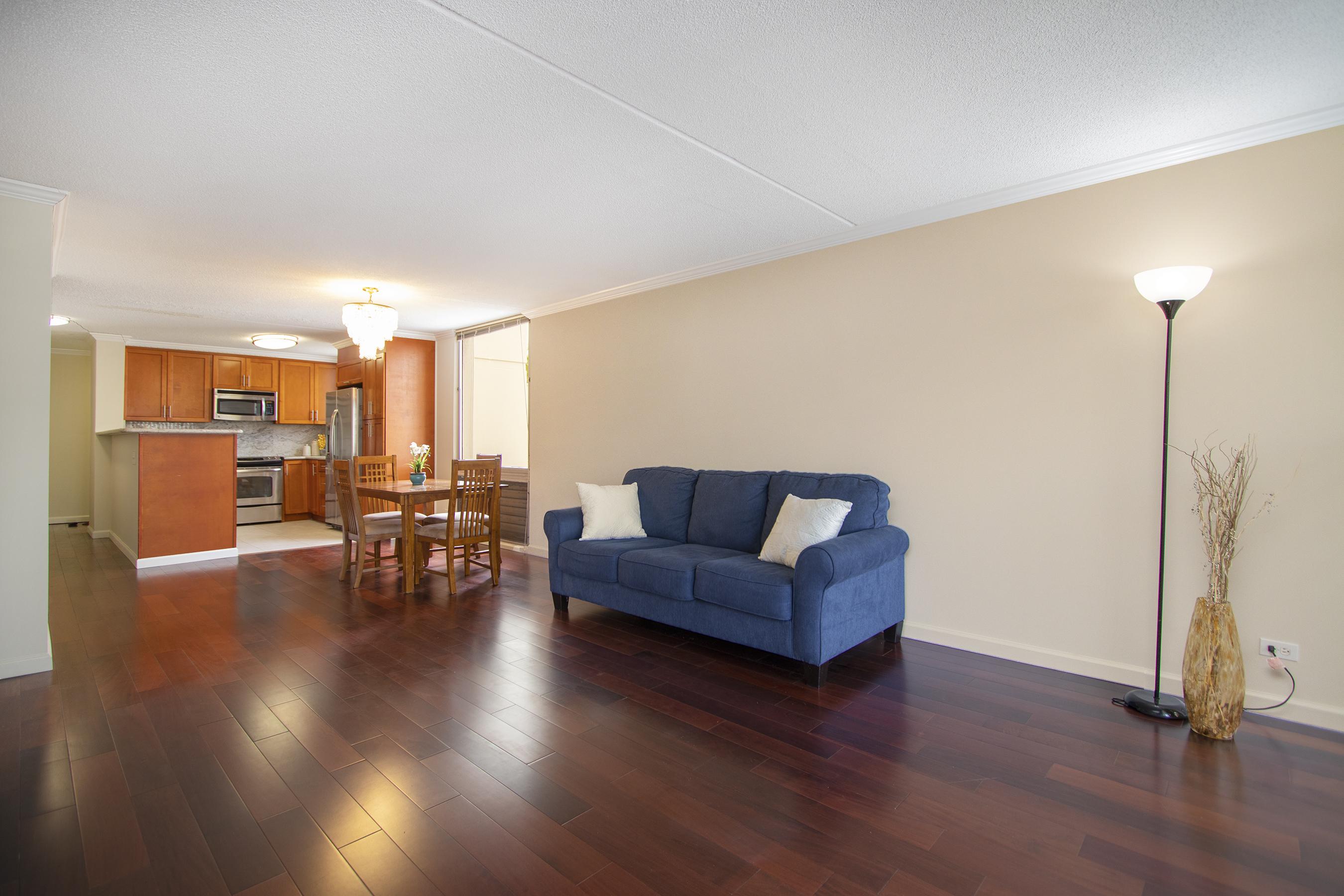 Living Room 1 at 1717 Ala Wai Boulevard #510