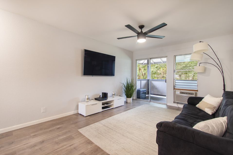 Living Room at 96-218 Waiawa Road #66, Pearl City