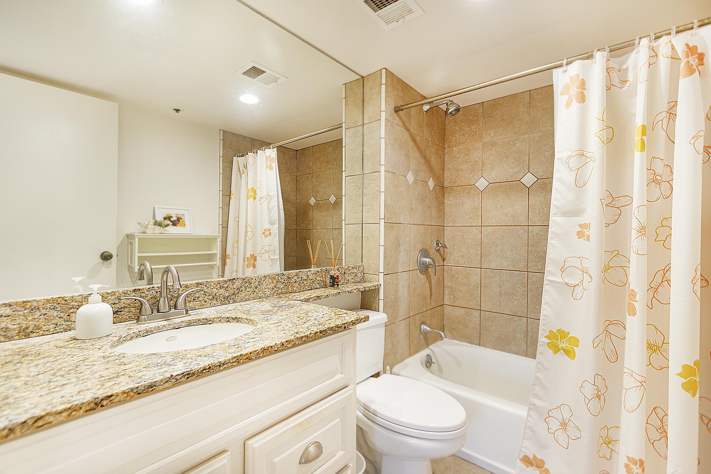 Bathroom at 2101 Nuuanu Ave #I/1806 Honolulu, HI 96817