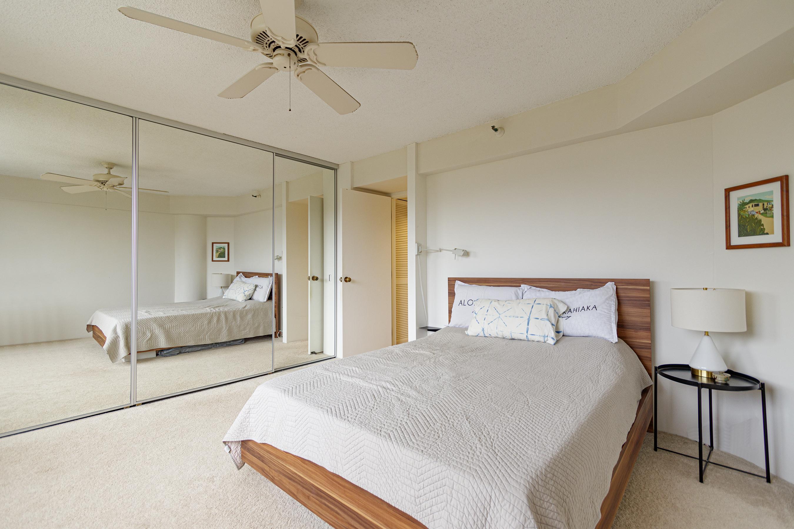 Bedroom at 2101 Nuuanu Ave #I/1806 Honolulu, HI 96817