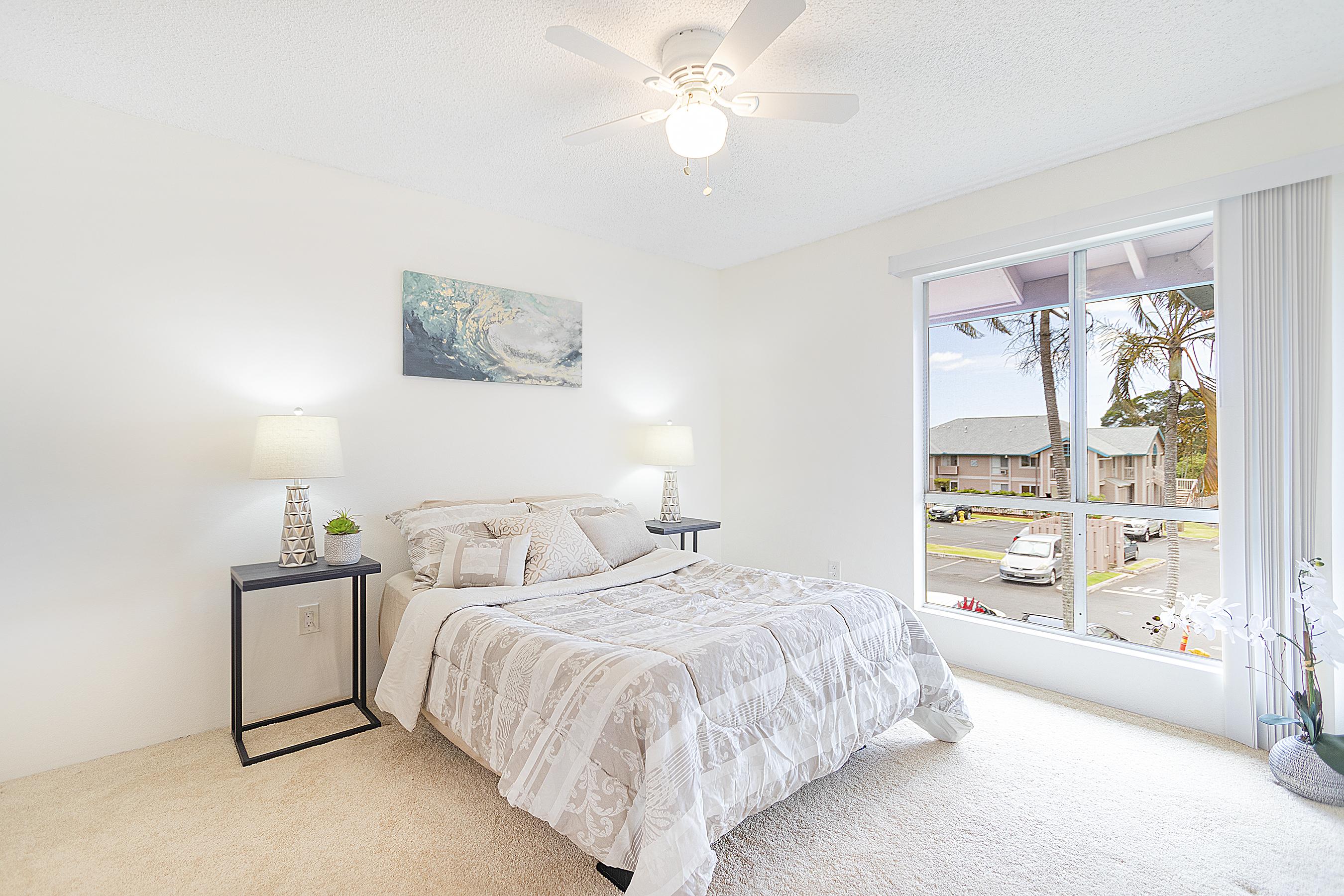 Master bedroom at 94-870 Lumiauau St #Y201