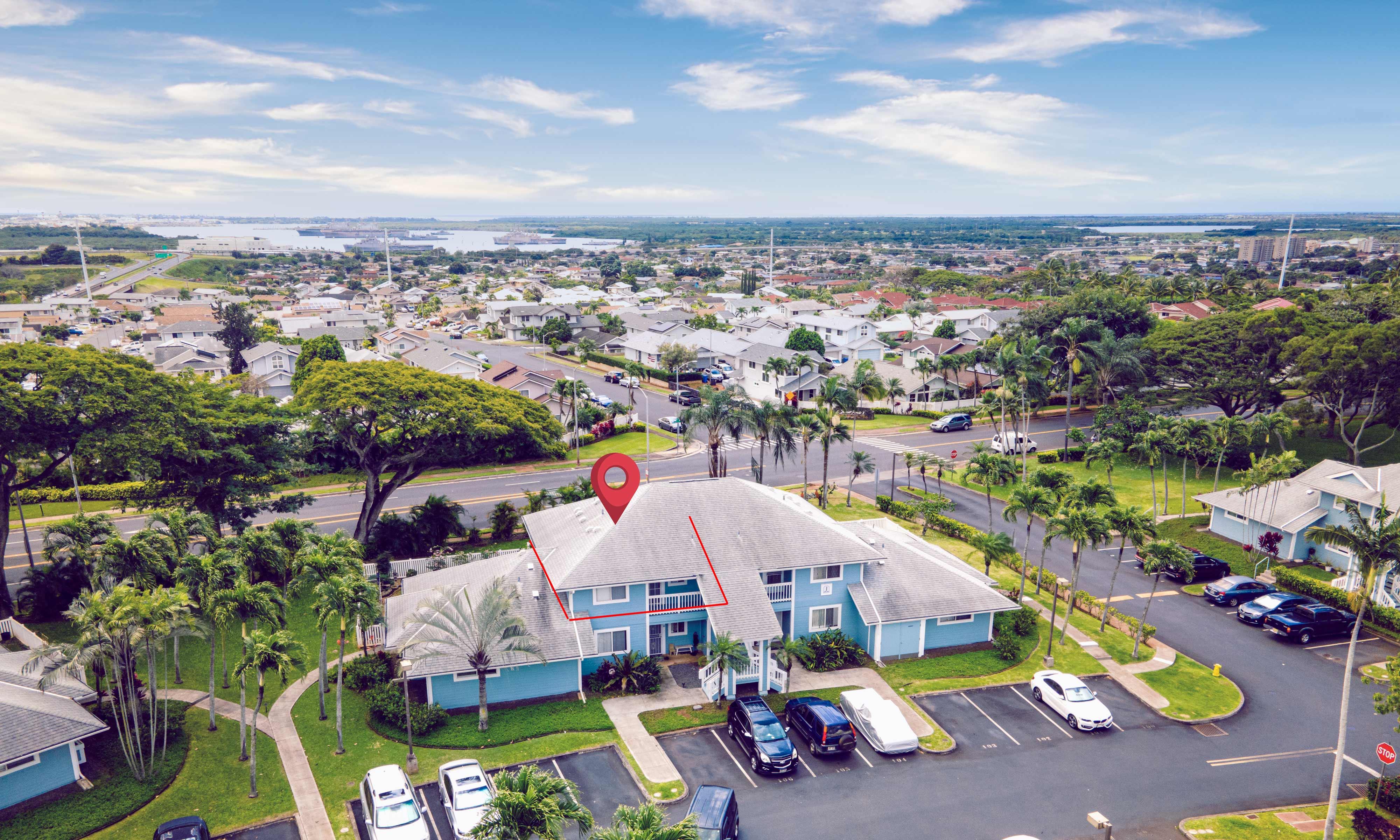 Aerial View of 94-970 Lumiauau St J202