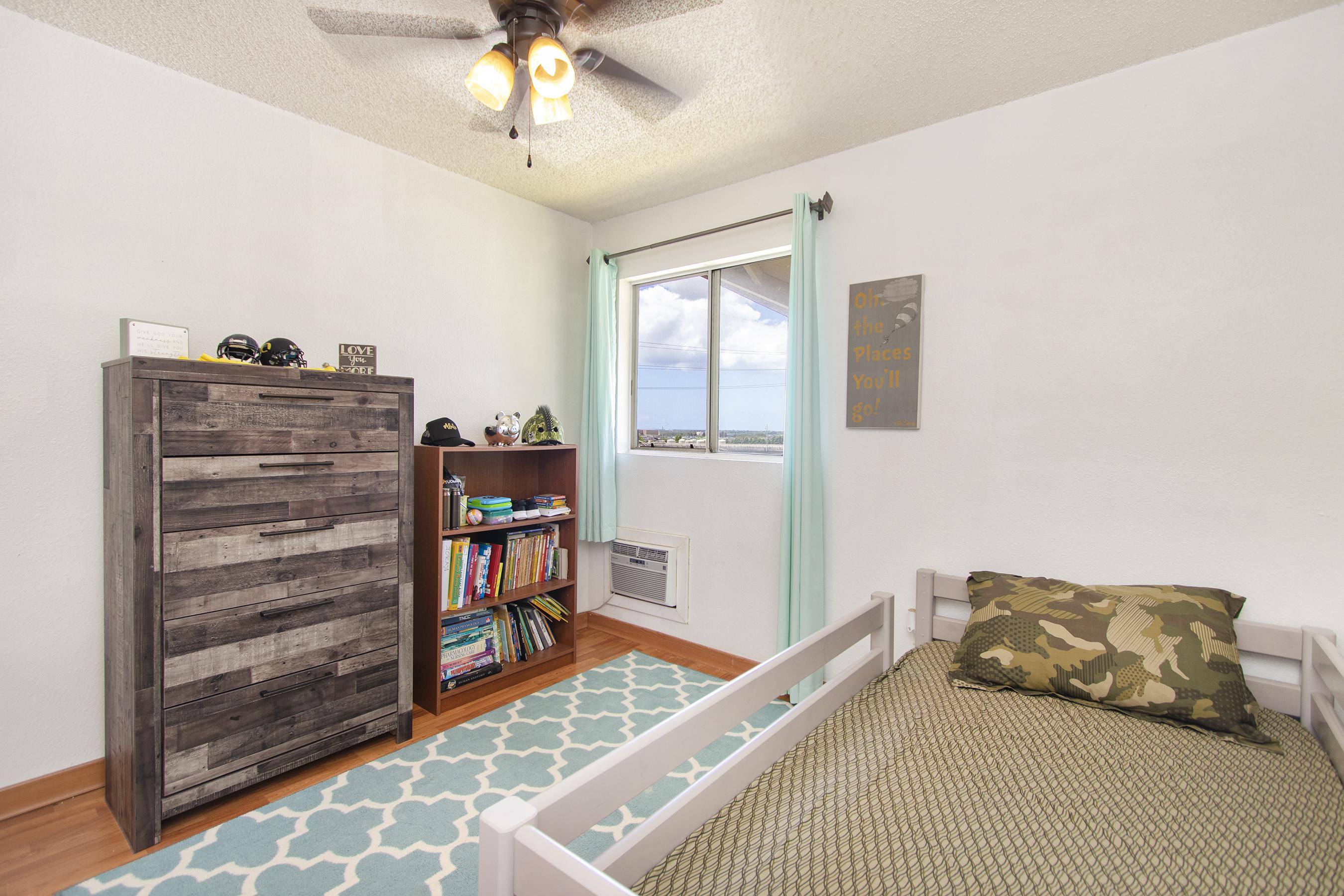 Second bedroom at 94-517 Lumiaina Street Unit K205