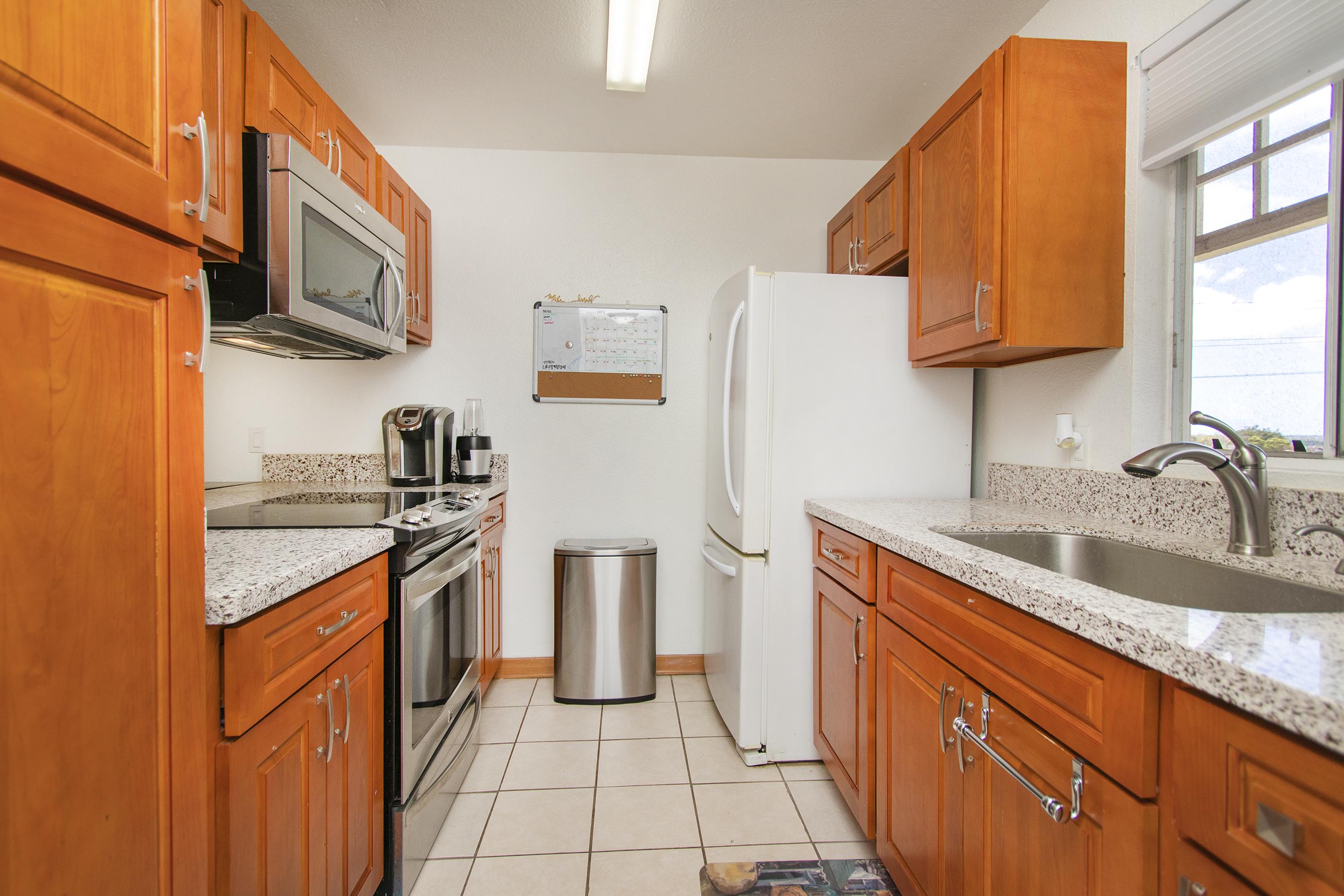 Kitchen at 94-517 Lumiaina Street Unit K205