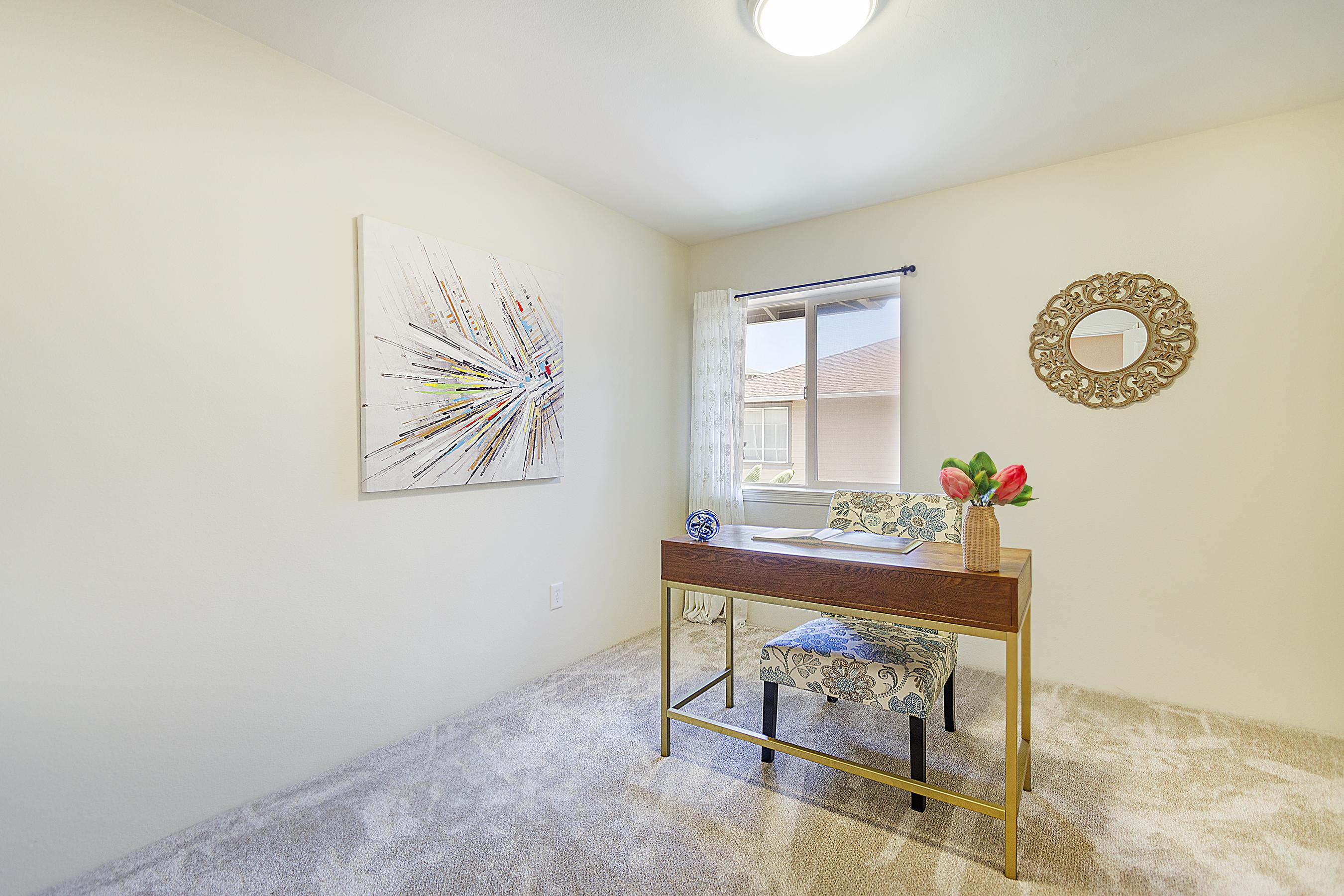 Third bedroom at 580 Lunalilo Home Road VB2409