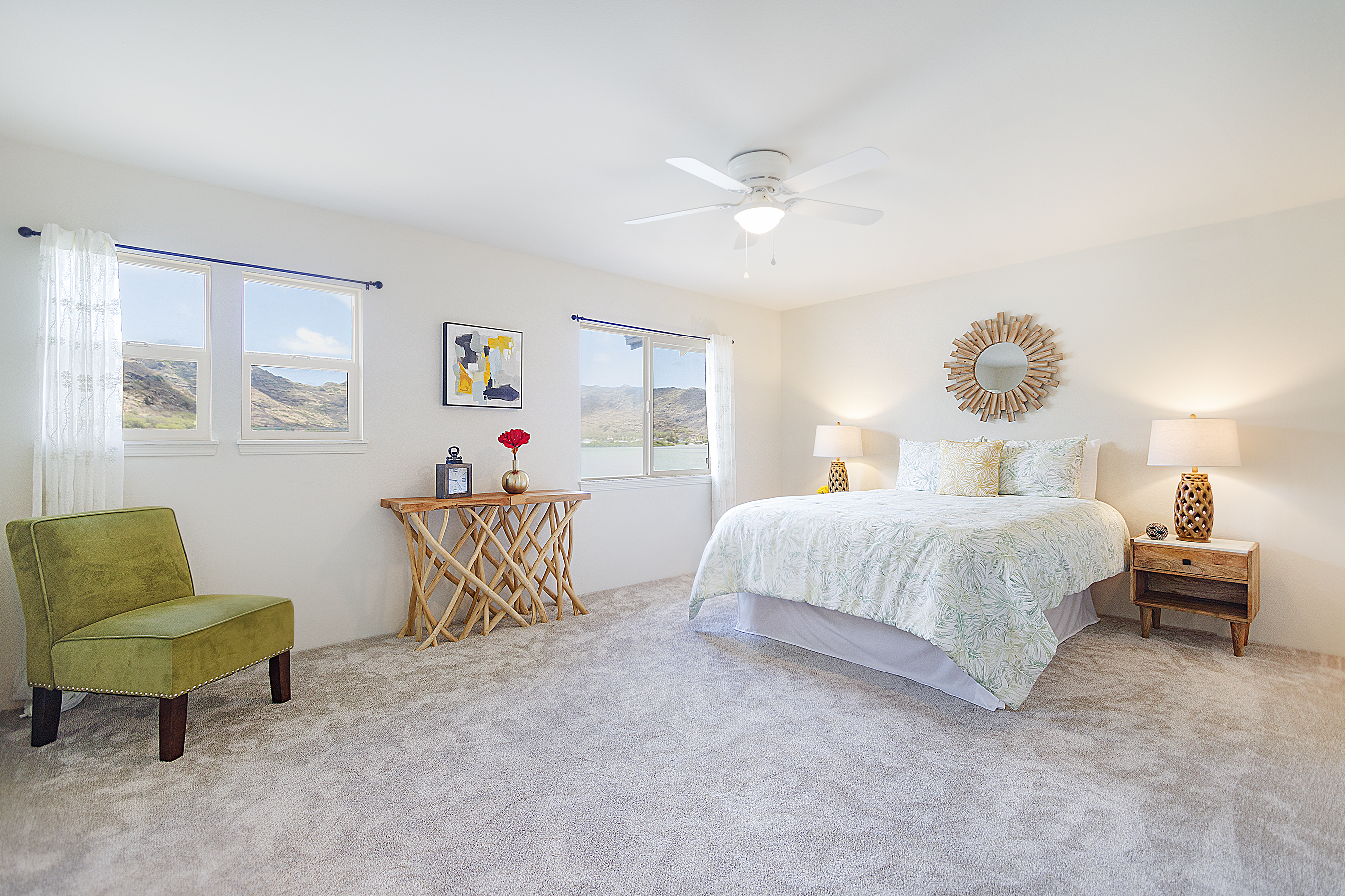 Master bedroom at 580 Lunalilo Home Road VB2409
