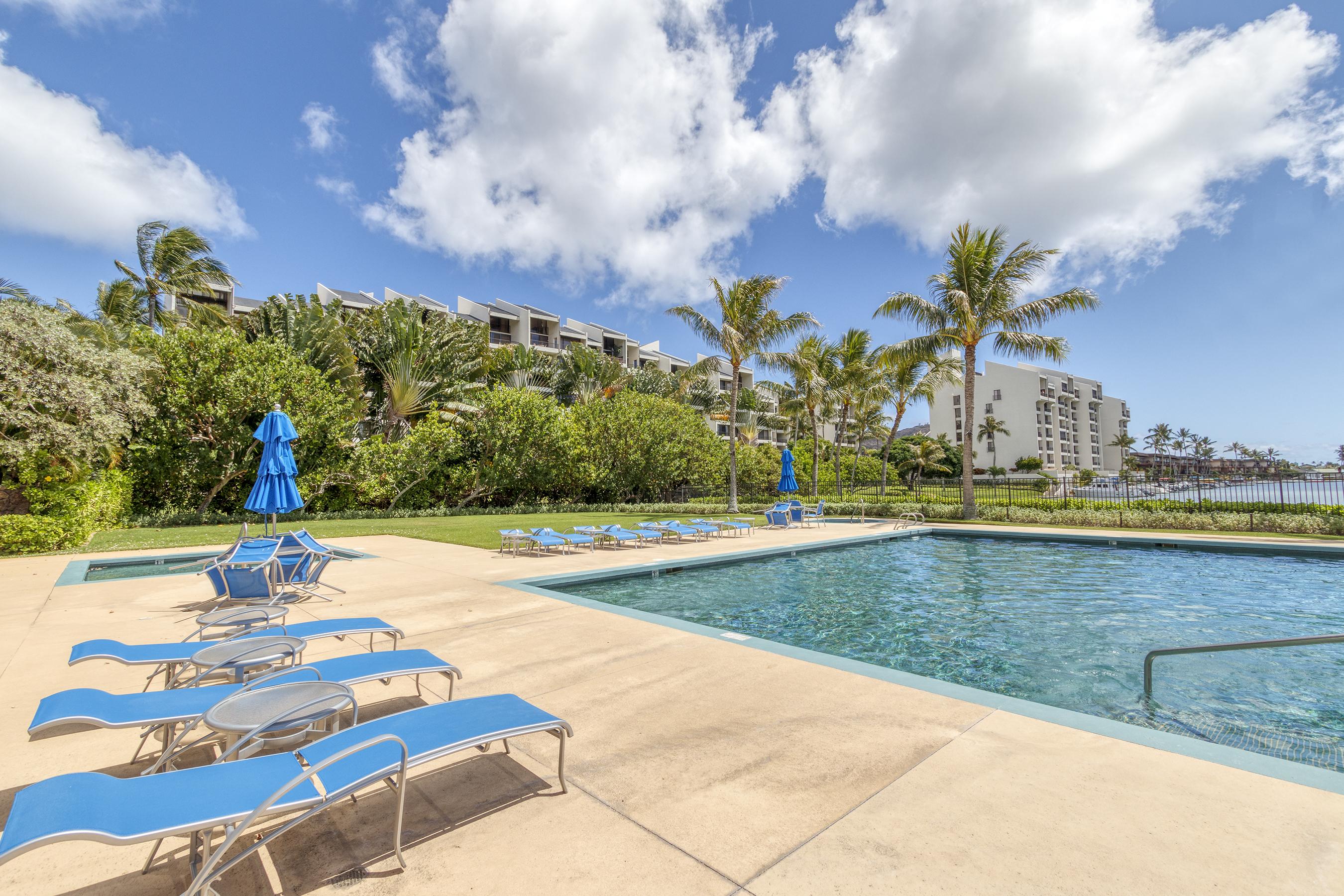 Pool at 580 Lunalilo Home Road VB2409