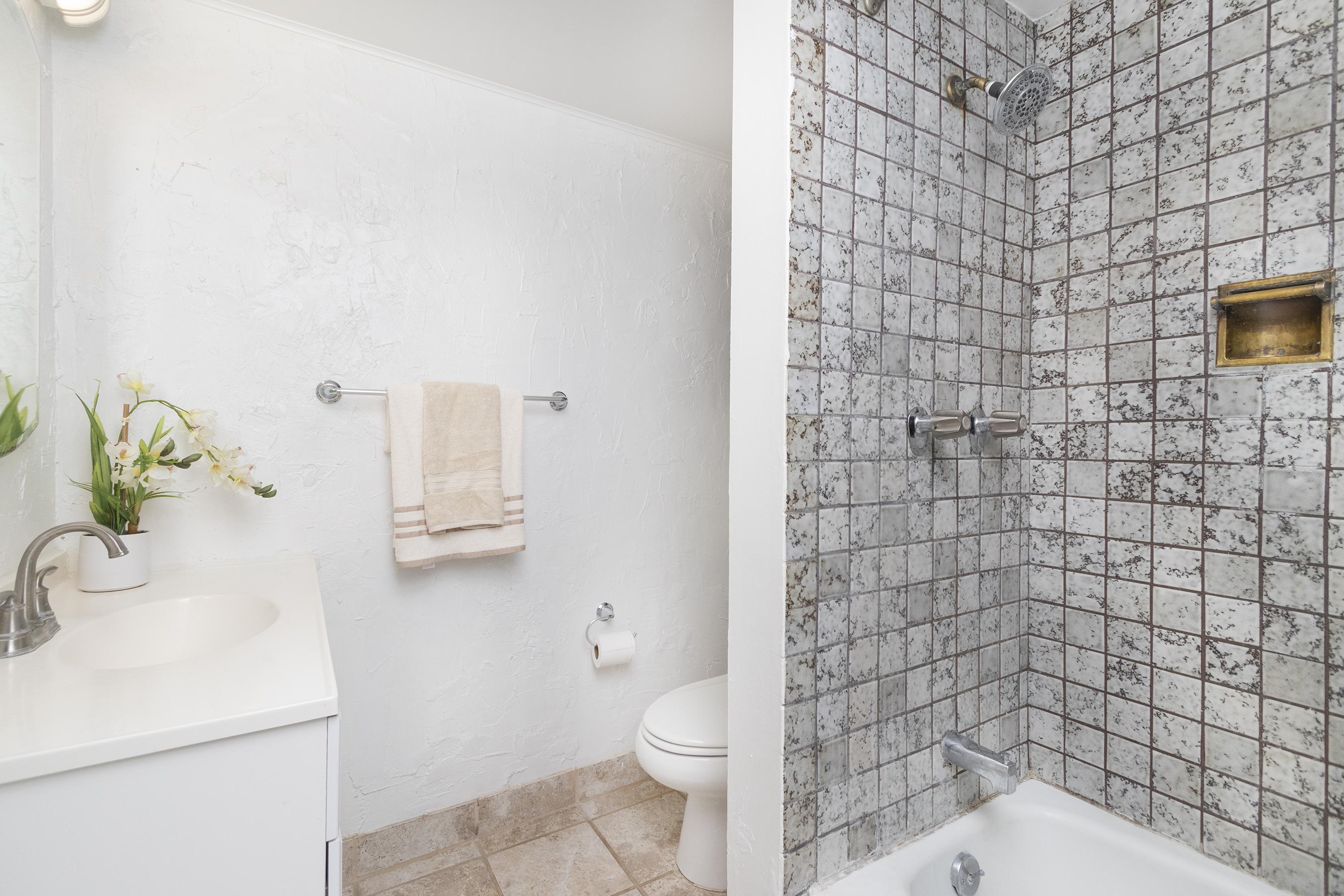 Bathroom at 1535 Pensacola St #711, Honolulu, HI 96822