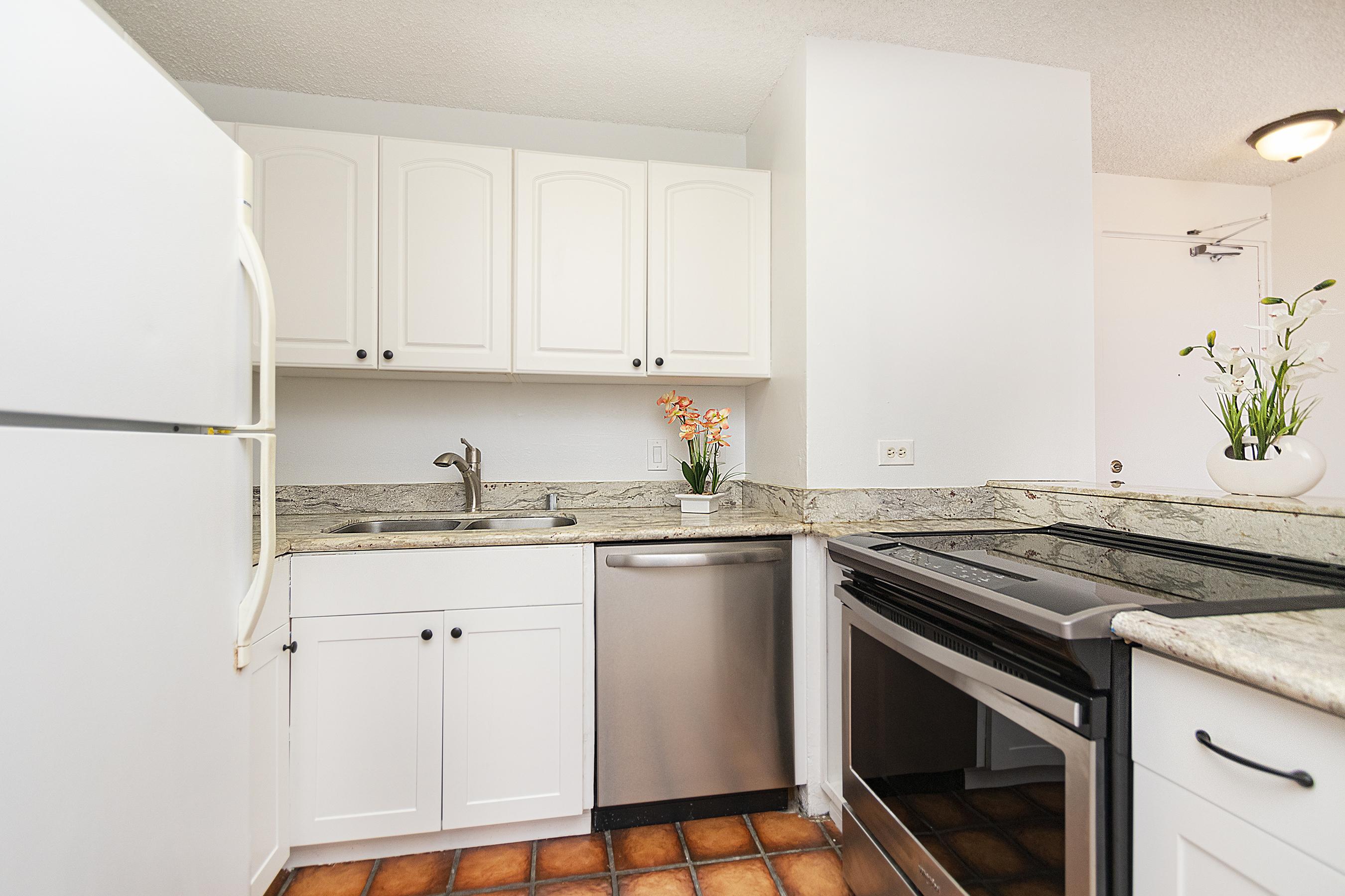 Kitchen at 1535 Pensacola St #711, Honolulu, HI 96822