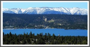 View of Big Bear Lakefronts
