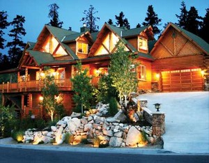 Big Bear Log Style Home