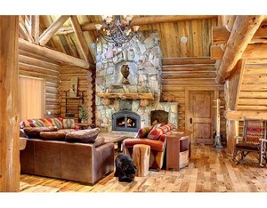 Big Bear log homes
