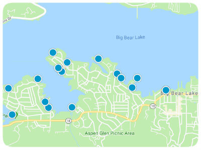 Big Bear Real Estate Map Search