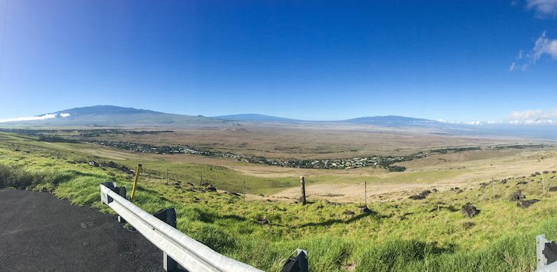 View of Waimea from Kohala Mountain Road