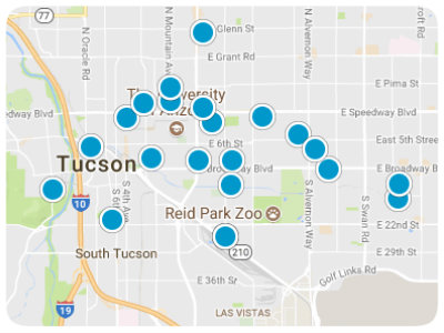 Tucson Real Estate Map Search