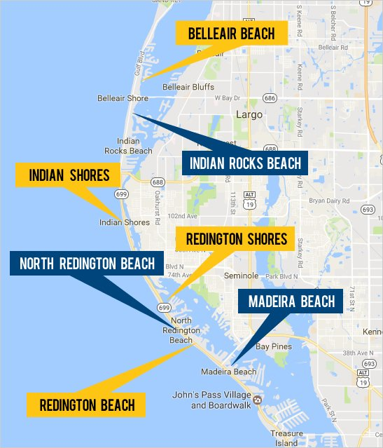 Explore Real Estate In The Gulf Beaches Area