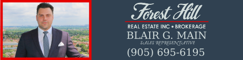 Blair G. Main, Sales Representative