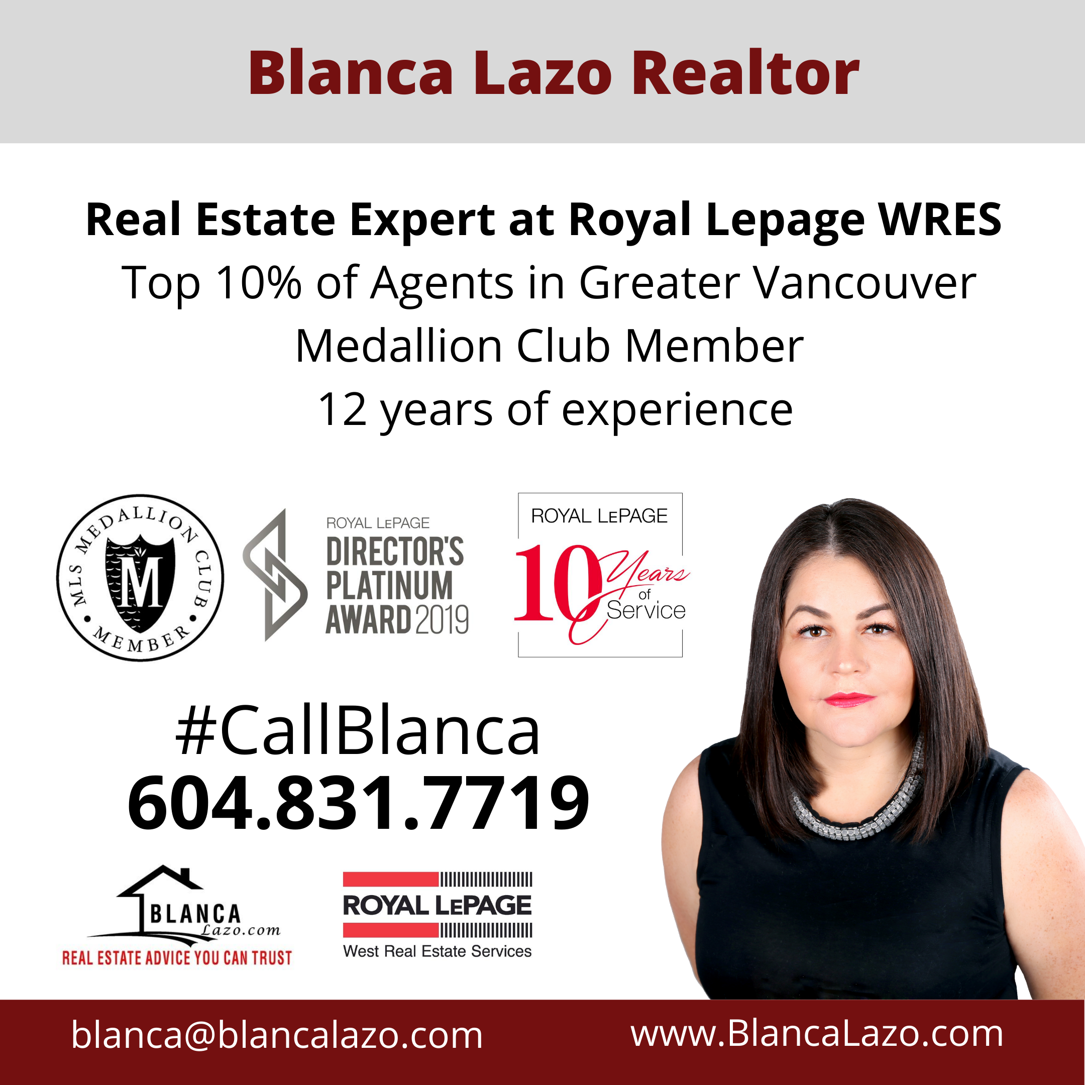 blanca lazo realtor description