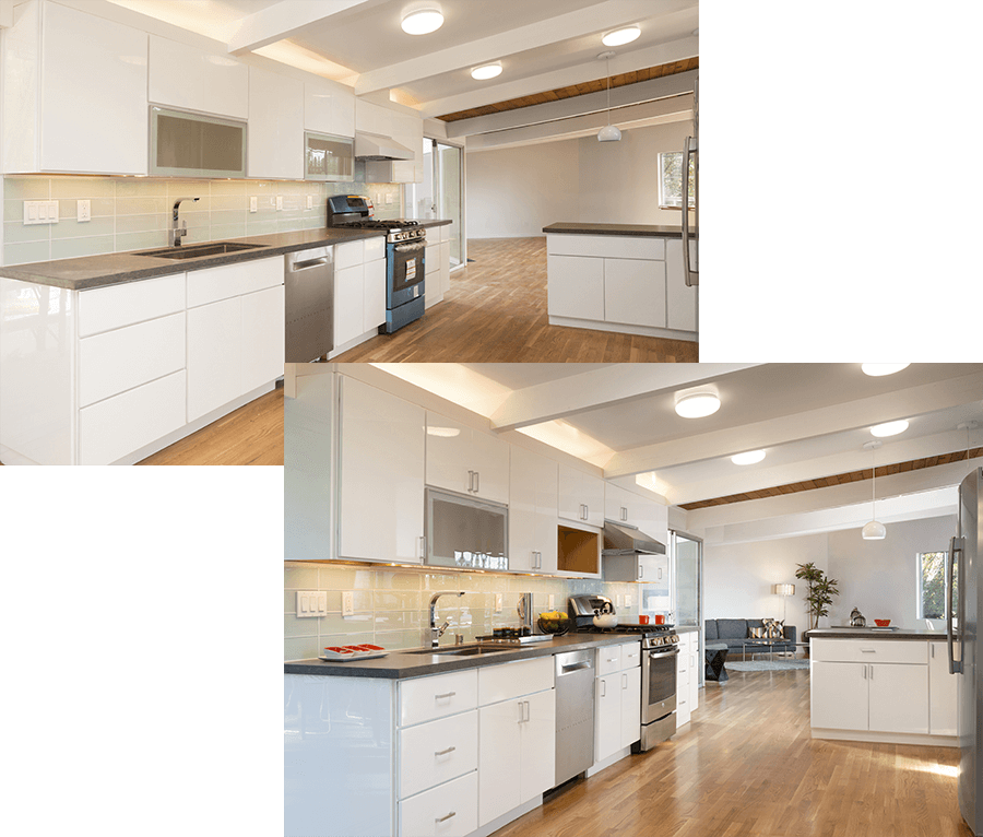 before and after - home staging photo