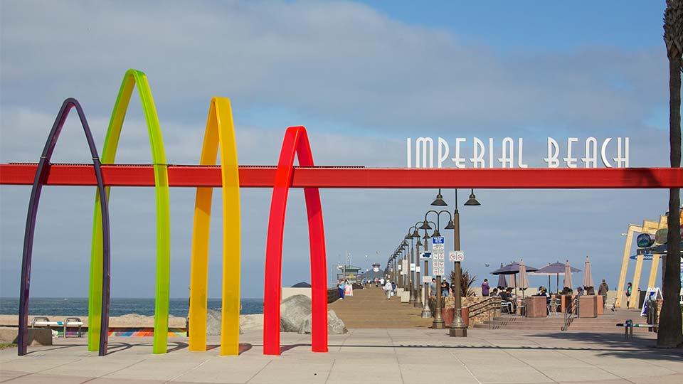 imperial beach pier entry