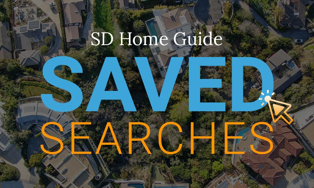 sd home guide - saving your searches