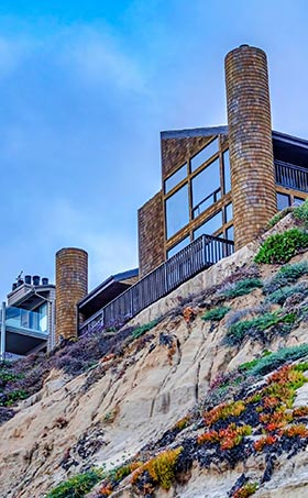 san diego cliffside homes