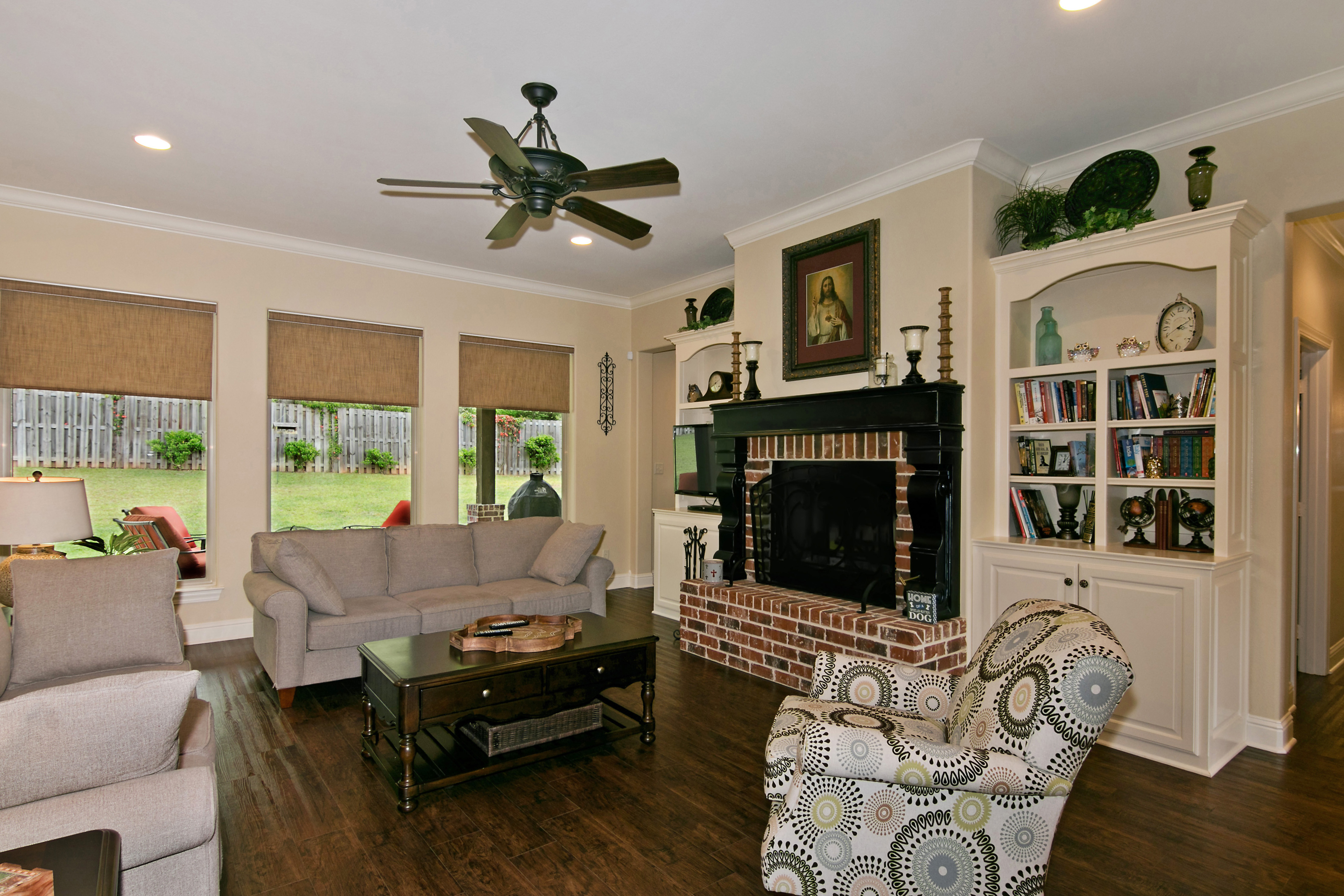 3014 Bull Run Trl, living area