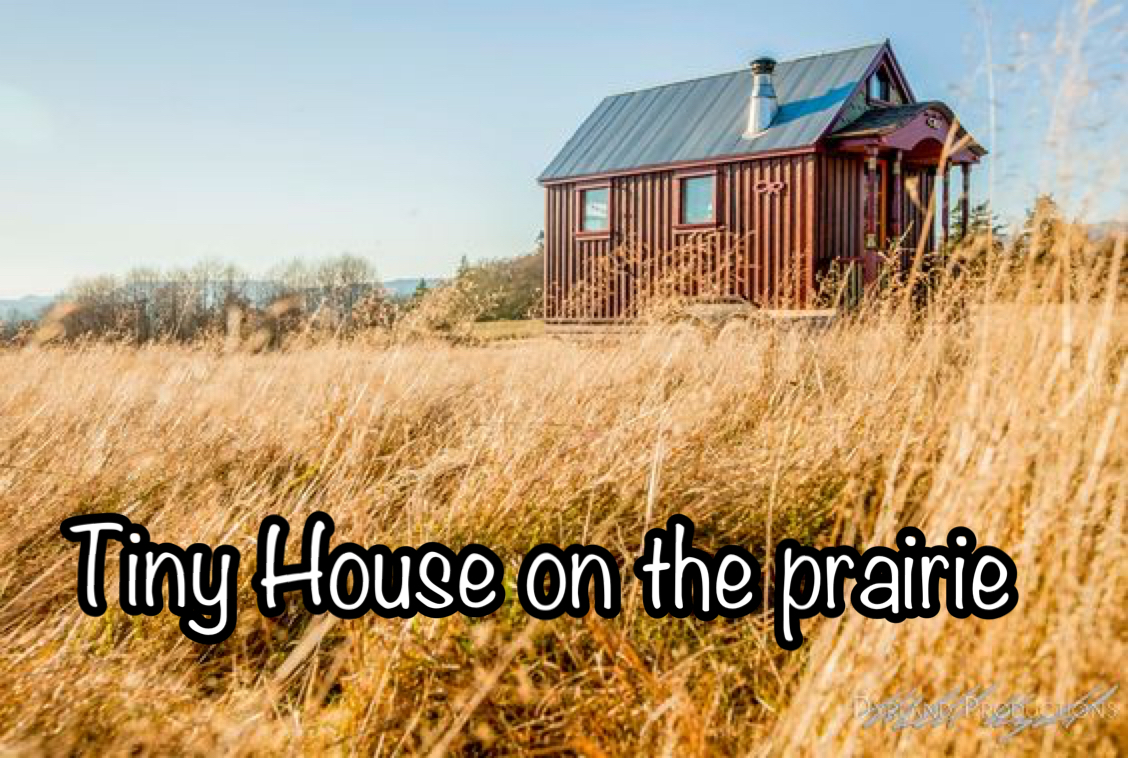 tiny house on the prairie