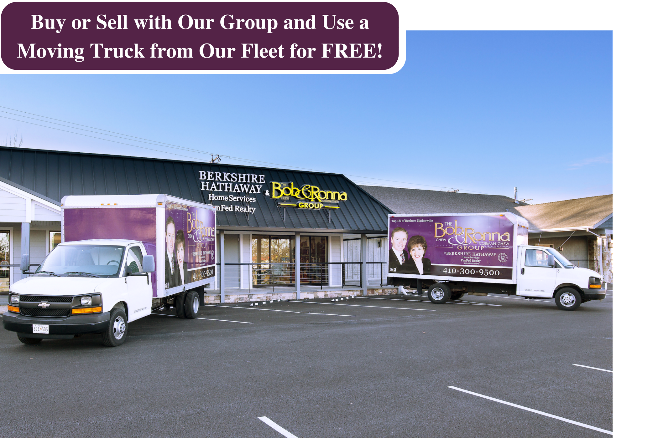 Use a Moving Truck for FREE - The Bob & Ronna Group