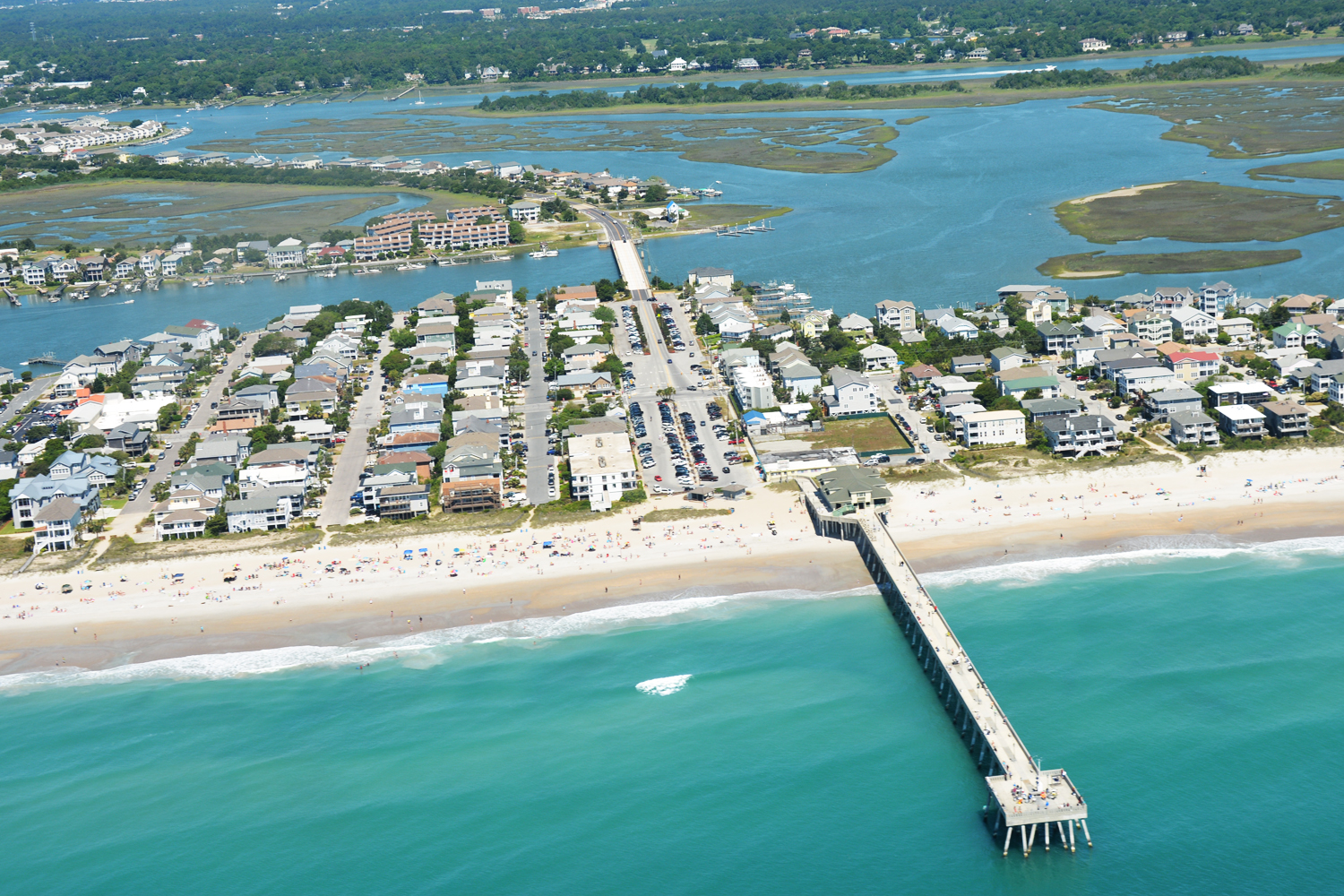 Wrightsville Beach North Carolina 2013 Aerial Photo