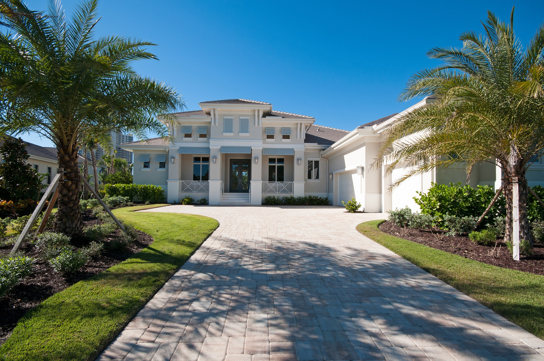 Exterior Bonita Bay Home For Sale