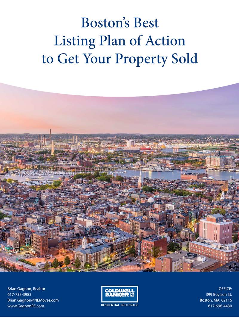 Brian Gagnon Selling Your Boston Home For More Cover